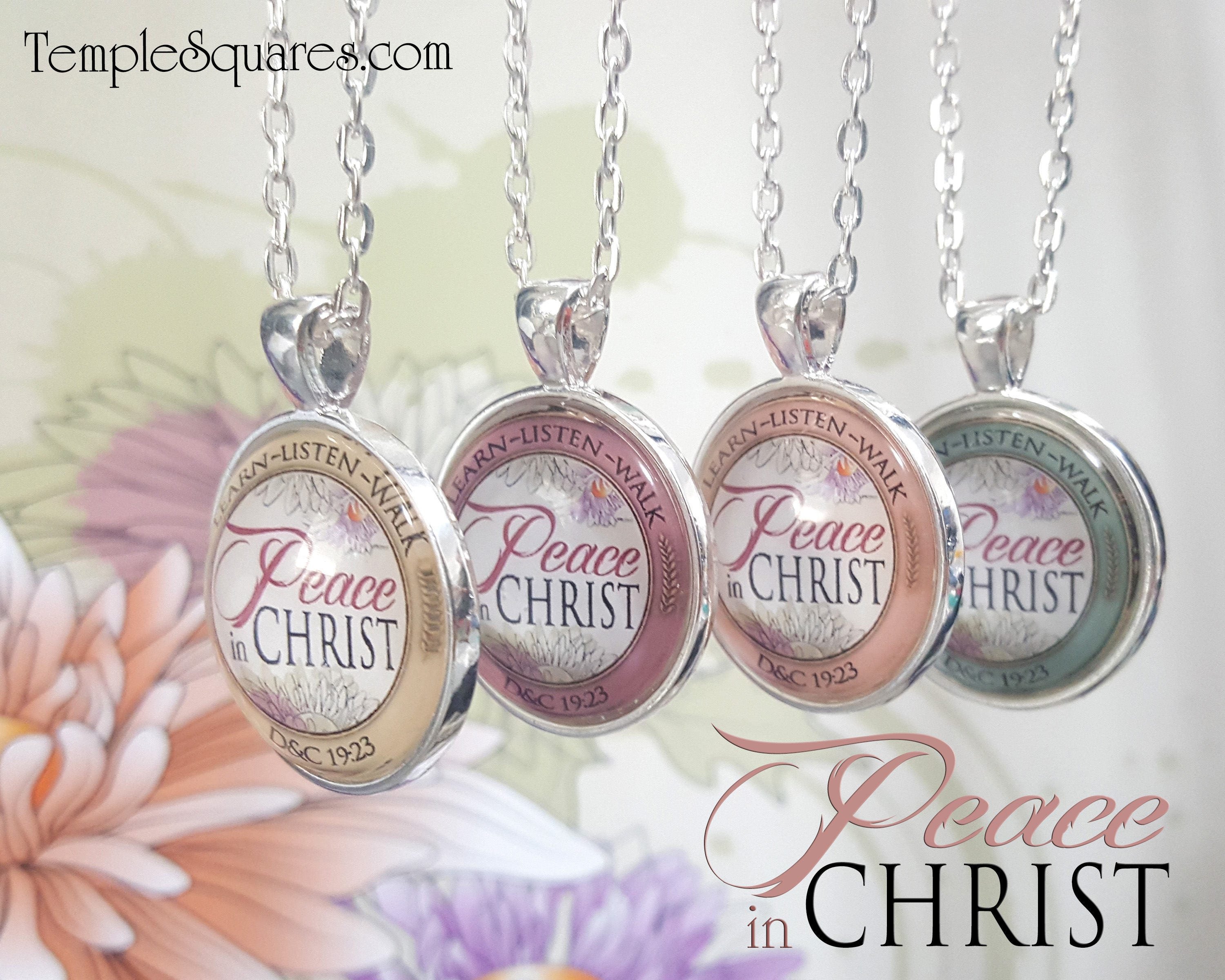 Yw 2018 Peace In Christ Pendant Necklace Young Women