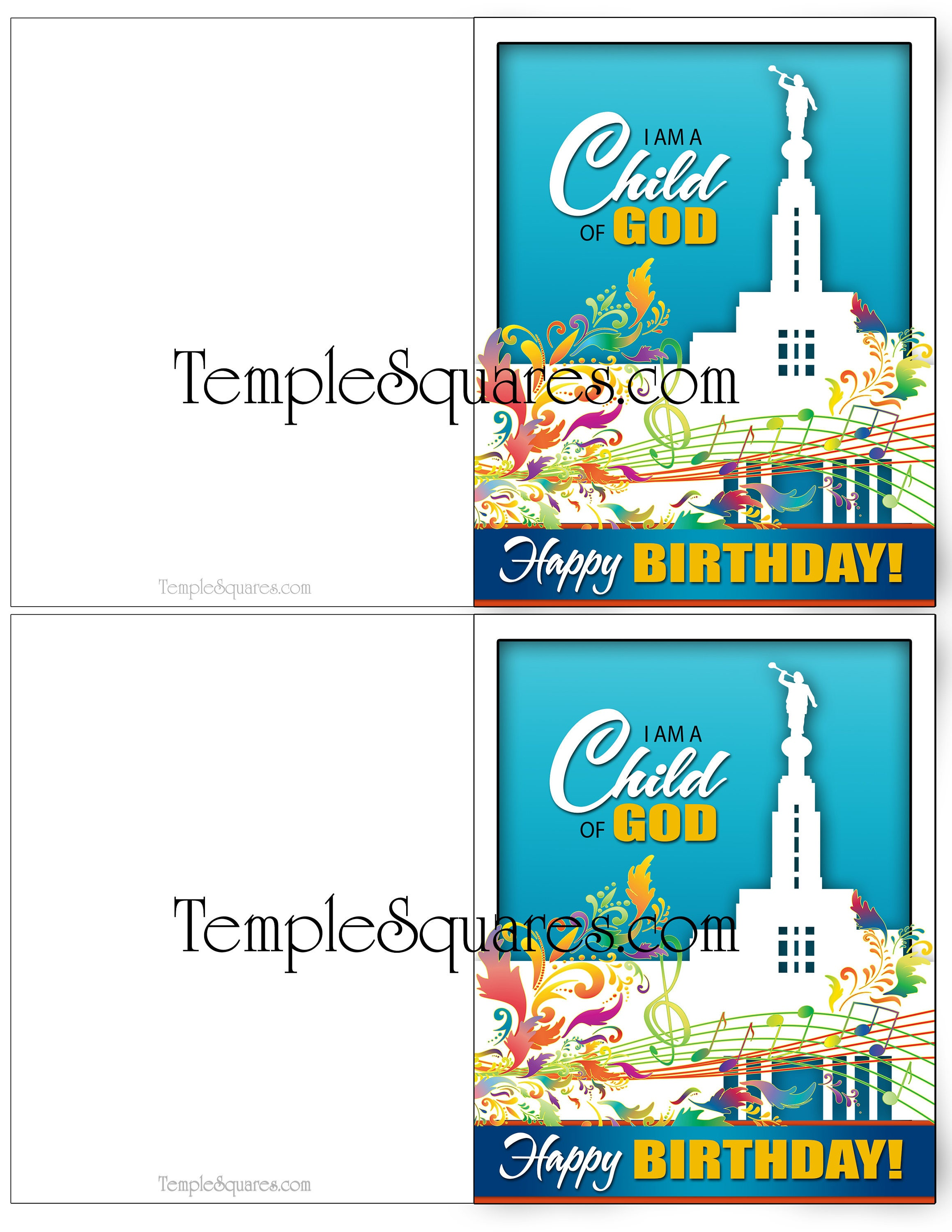 Printable Invites Cards Thank You We Miss You Happy Birthday