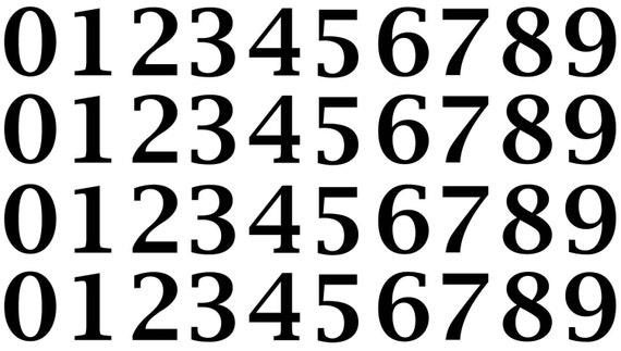 """Burnout Alphabet 1//2/"""" Letters  5/""""X7/"""" Card Black Fused Glass Decals 18CC1013"""