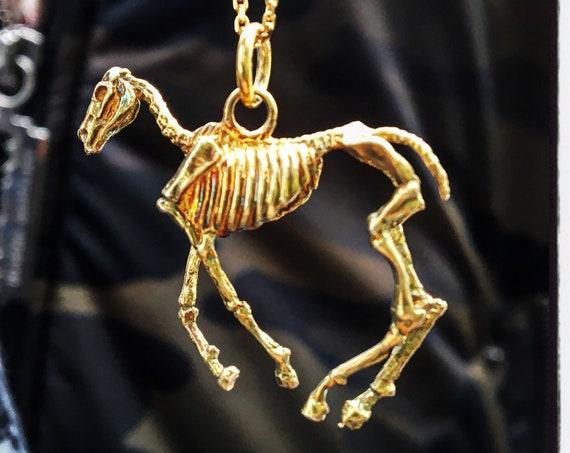 Horse Skull Pendant Horse Skull Necklace Horse Skeleton Pendant Horse Skeleton Necklace Skull Pendant Horse Necklace Horse Pendant Skull