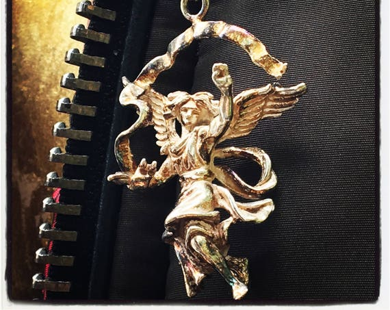 Archangel Michael Pendant Angel Pendant by Etherial Jewelry handmade from Pure Sterling Silver 925 Luxury Pendants Jewelry Accessories
