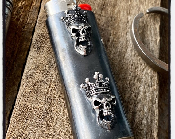 Skull Lighter Case Cigarette Lighter Case Skull Lighter Cover Cigarette Lighter Cover Cigarette Lighter Holder Cigar Lighter Cigar Humidor