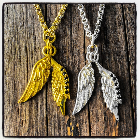 Wings Pendant Wings Necklace Angel Wings Pendant Angel Wings Necklace Angel Pendant Angel Necklace Gold Wings Necklace Gold Wings Pendant