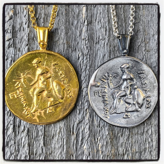 Thracian Tetradrachm Ancient Greek Coin Necklace Ancient Greek Coin Pendant Alexander the Great Necklace Alexander the Great Pendant Coin