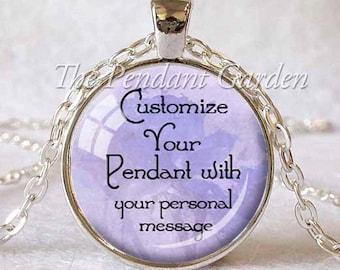CUSTOM PENDANT PERSONALIZED Pendant Customize Personalized Custom Design Custom Necklace Personal Gift Custom Jewelry