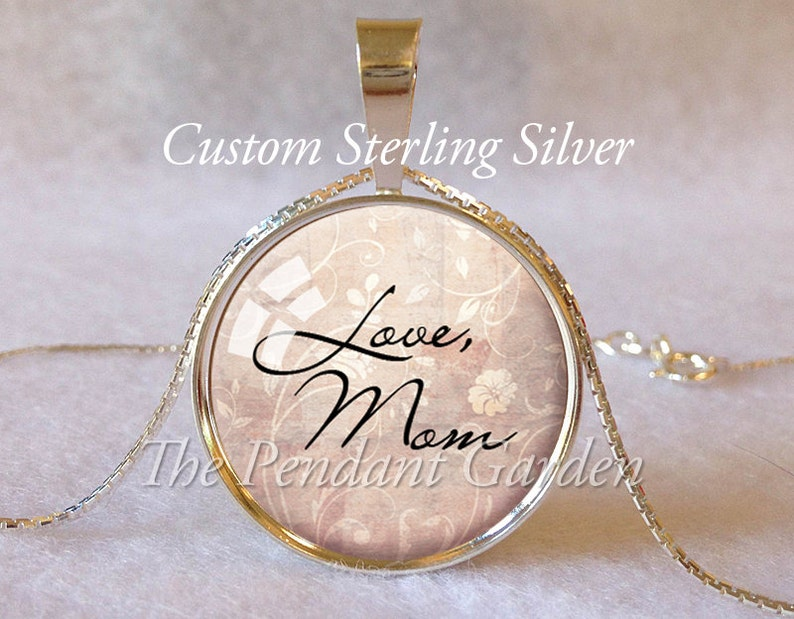 STERLING SILVER MEMORIAL Signature Pendant Personalized Memorial Handwriting Jewelry In Loving Memory Personal Handwriting Jewelry Memorial