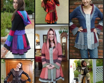 Whimsical Jacket in Katwise Style