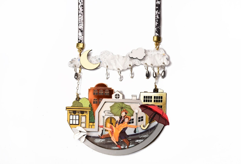 Singing In The Rain Necklace