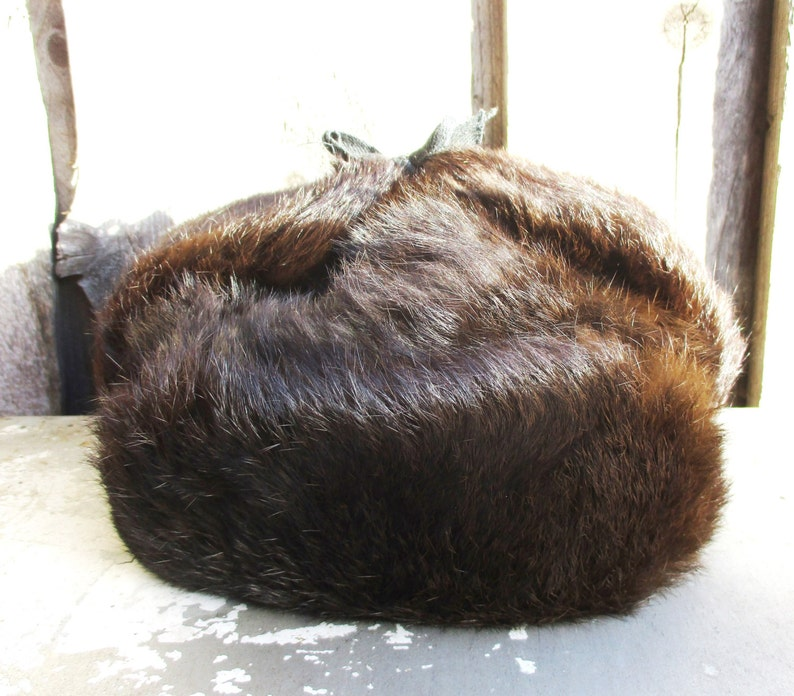 597b922654adc Winter Hat for Child Rabbit Fur Hat Russian Ushanka Genuine