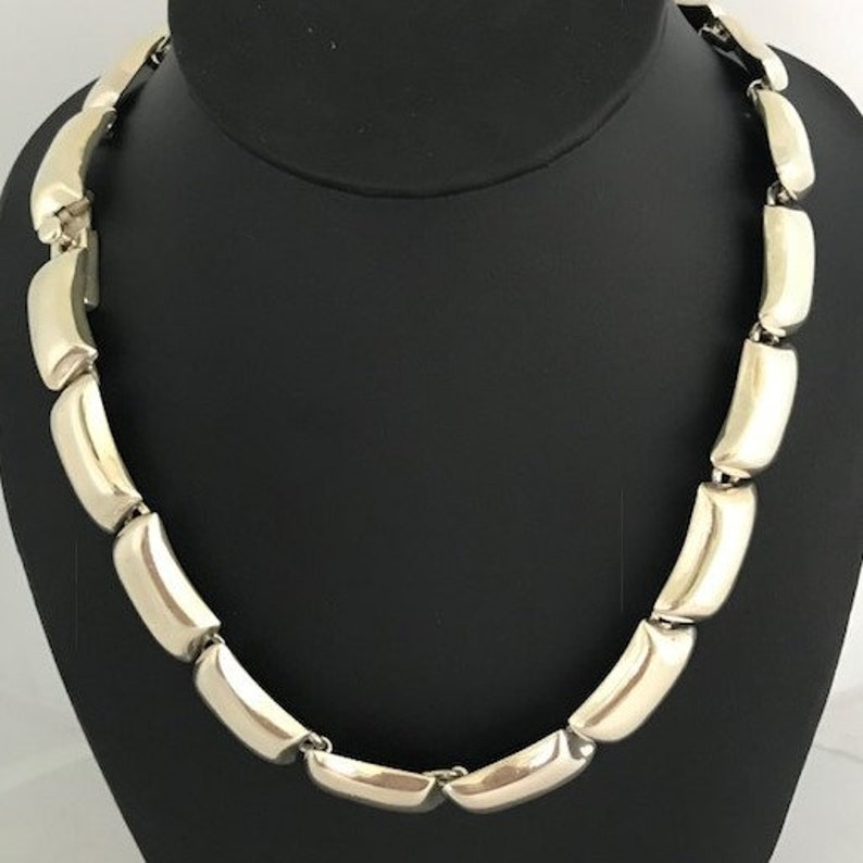 Sterling Silver Choker Necklace Gorgeous! 925 Mexico