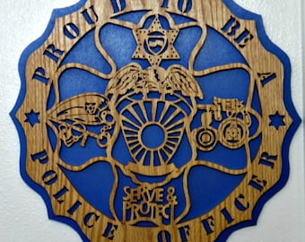 Proud to be a Police Officer Plaque