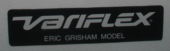 Vintage 1980 Eric Grisham Variflex Skateboard autocollant