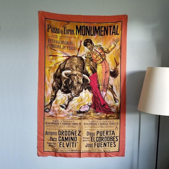 Madrid Plaza De Toros Diego Puerta El Cordobés Bullfighting Vintage Poster Print