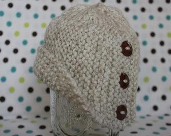Baby Cloche Hat - Pearl Mist