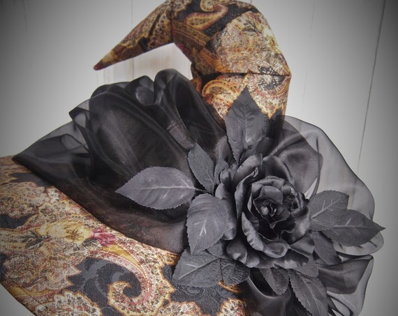 """Witch Hat """"Old Rose"""""""