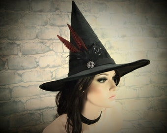 """Witch Hat """"Ruby"""""""