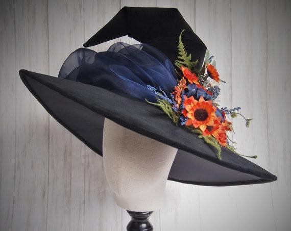 """Witch Hat """"Blue Bouquet"""""""