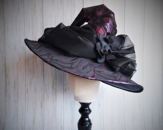 "Witch Hat ""Lavender Magic"""