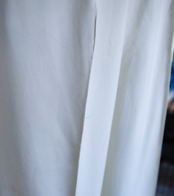 Early 1940s White Slacks Trousers **Project** - image 7