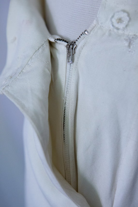 Early 1940s White Slacks Trousers **Project** - image 3