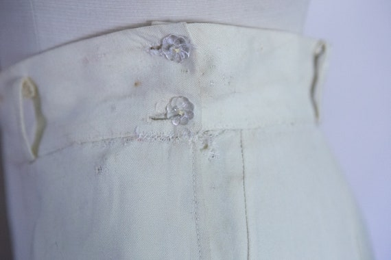Early 1940s White Slacks Trousers **Project** - image 6