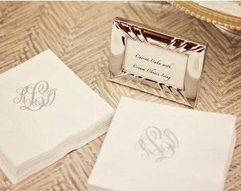 Monogrammed / Personalized / Custom Paper Dinner Napkins