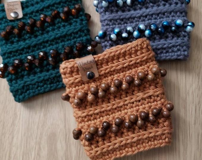 Featured listing image: Winding Road Travel Mug Cozy  Crochet Pattern! PDF Digital File!  Coffee Mug Cozy!  Cup Cozy! Travel Mug!