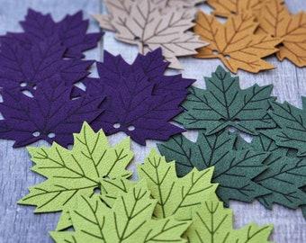 Ultrasuede Leaf! Autumn Leaves!  Leaf for crochet Pumpkin!  Knit pumpkins  Fall Maple Leaf !Ultrasuede Leaves! Crafts Leaf Patch