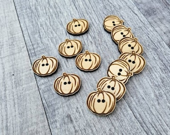 Wood Button Pumpkin!  Cup Cozy Button!  Coffee Button! Crochet Button!  Add to your DIY projects!  Fall Decor!  Harvest!  Thanksgiving!