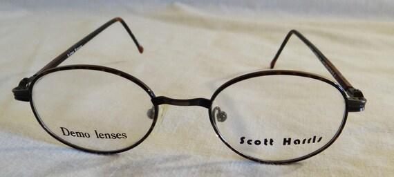 Scott Harris Glasses Frames 24 Anti Pewter D.A. 46 18-140 | Etsy