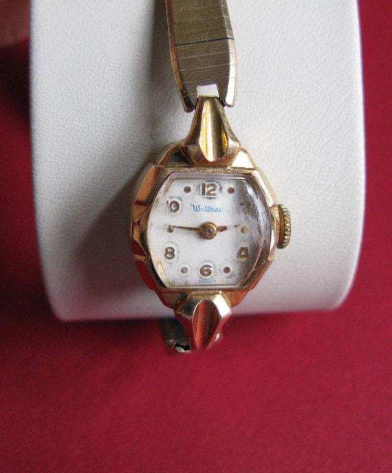Waltham Watches Ladies Vintage Wrist Watch 14k Gold With Etsy