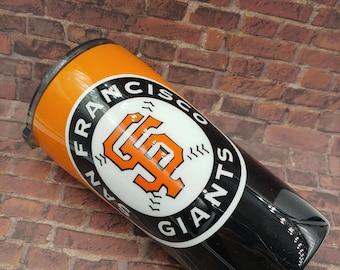 San Francisco Giants Tumbler, Giants Tumbler, Baseball Team Tumbler, MLB Tumbler, Non-Glitter Tumbler, Pick Your Team Cup, MLB Cup, Giants