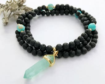 Buddhist Prayer Beads, Prayer Beads, Mala Necklace, Mala, Mala Beads, Yoga Necklace, 108 Mala Beads, Japa Mala, Yoga, Meditation Necklace