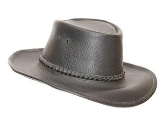 d9308c92566 Authentic Leather Oilskin Hat