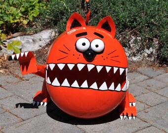 Kitty Cat  Propane Tank Sculpture