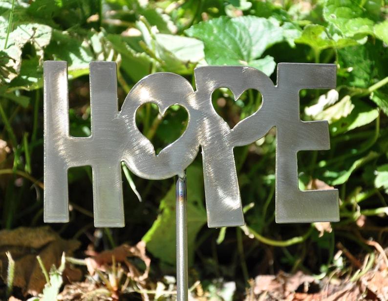 Hope Garden Stake Ornament image 0