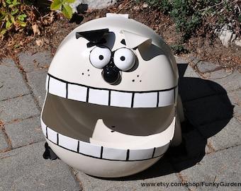 Dog Propane Tank Sculpture