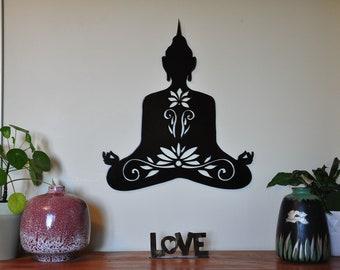 Metal Buddha Wall Art