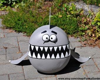 Shark Propane Tank Sculpture