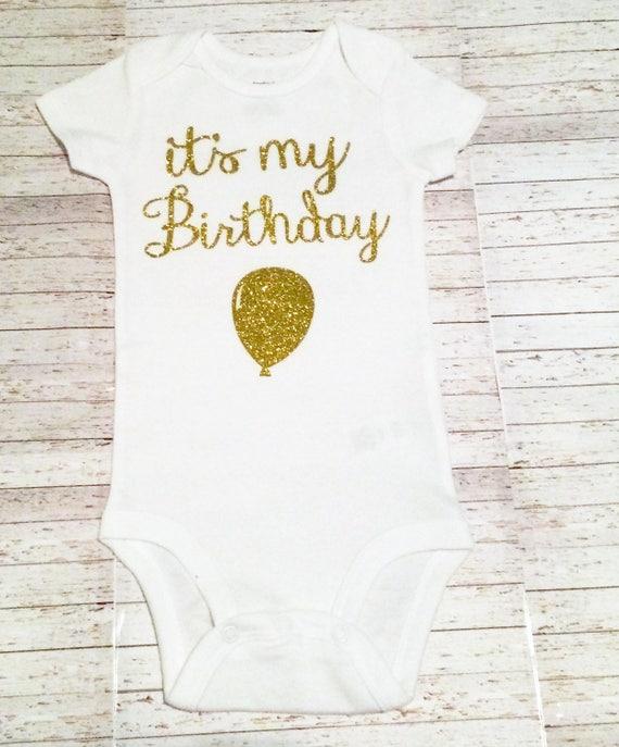 Its My Birthday Infant Bodysuit Shirt Kids