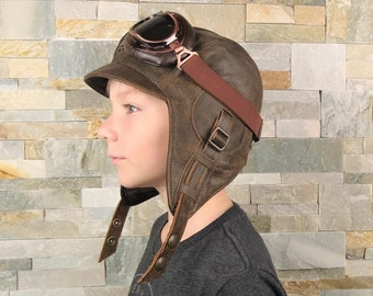 14175d74b84 Kids aviator hat