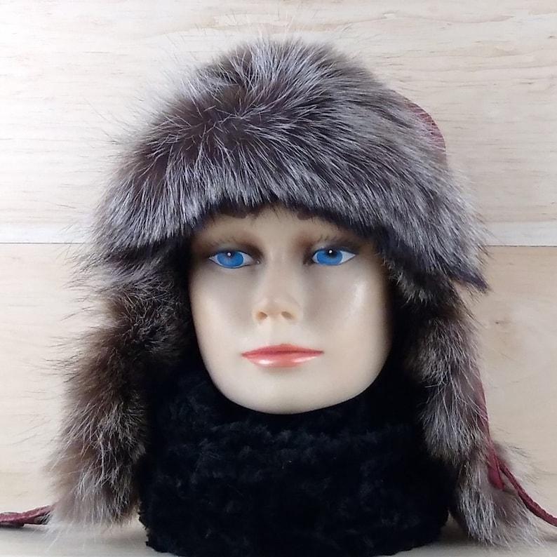 Colbacco donna cappello aviatore pelliccia cappello trapper  2b3ff6159758