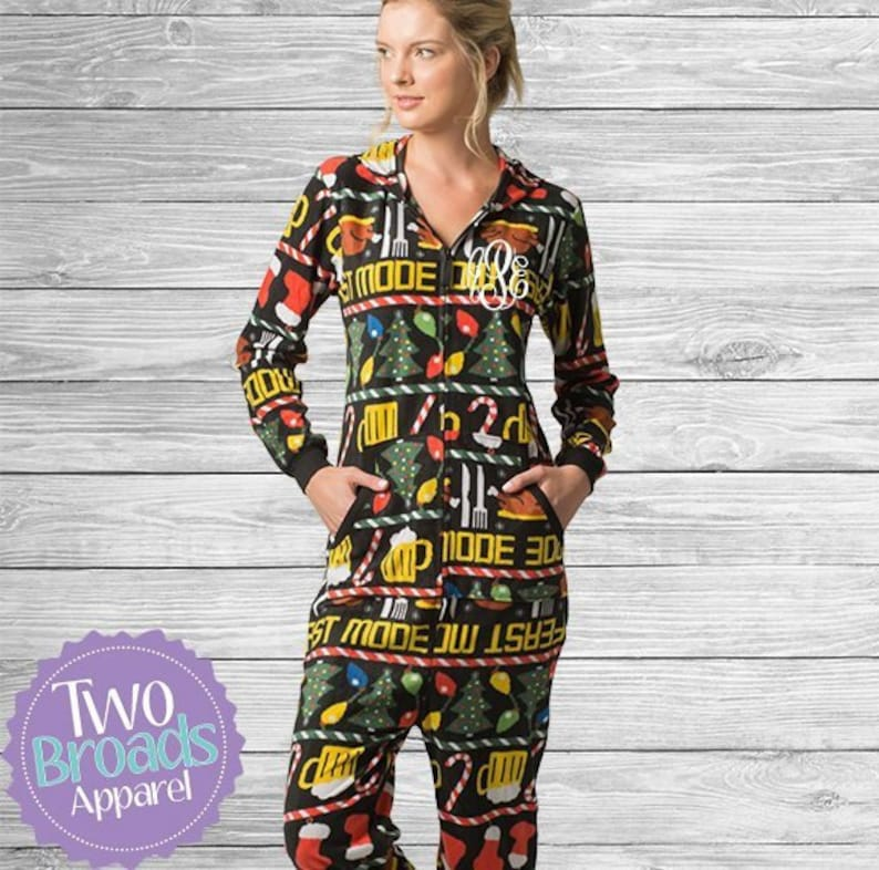 a43951a51949 Thanksgiving onesie Pajamas Teen Pajamas Holiday Pajamas