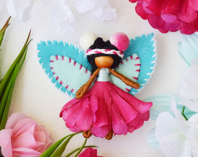 Miniature Fairy Doll, Waldorf Fairies, Flower Fairy Doll
