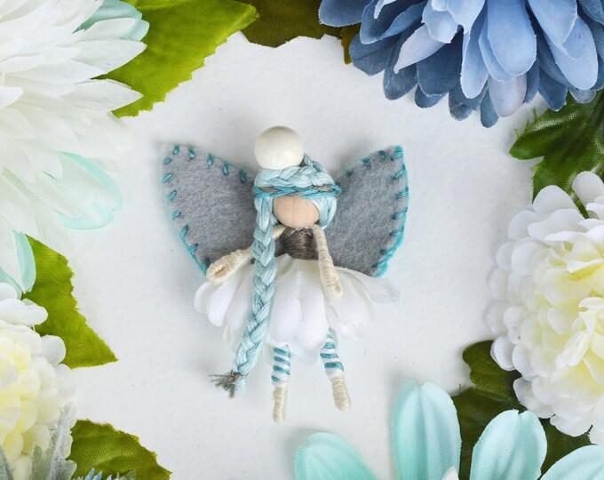 Waldorf Fairy Doll, Miniature Fairies, Flower Fairy Doll Small