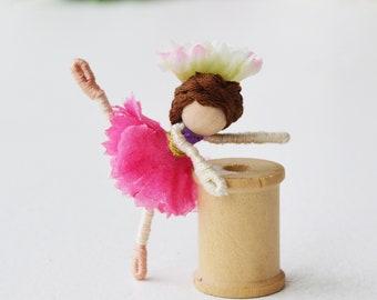Ballet Doll, Dance Recital Gift, Ballerina Doll, Fairy Doll Ballerina, Ballet Fairy Doll
