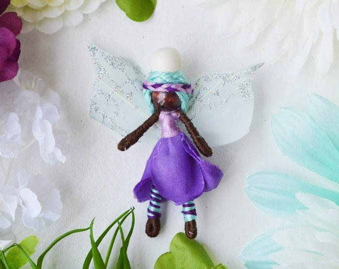 Miniature Fairy Doll, Waldorf Fairy, Small Fairy Doll
