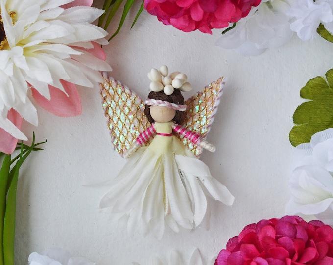 Flower Fairy Doll, Waldorf Fairies, Miniature Fairy Doll