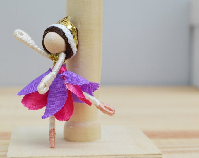Ballet Doll, Dance Recital Gift, Ballerina Fairy Doll