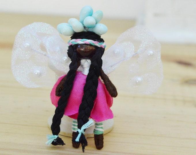 Flower Fairy Doll, Waldorf Fairy Doll, Miniature Fairies